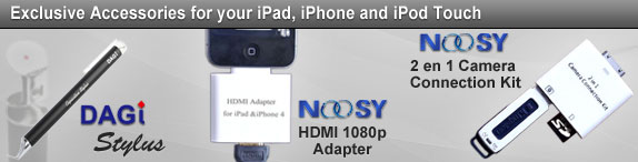 iPad, iPhone, iPod Accessories