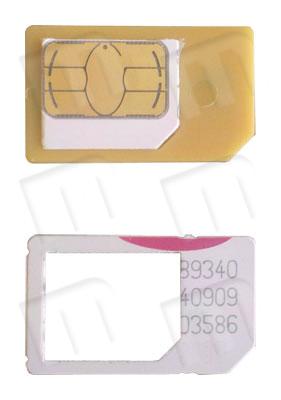 Si tuviera la necesidad de volver a usar una microSIM original o cortada en un dispositivo que use miniSIM, tenemos disponibles unos conversores/adaptadores de microSIM a miniSIM.