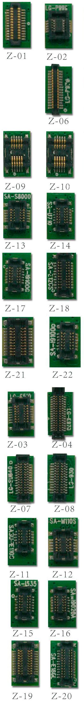 Juego de conectores JPIN Molex hembra completo para JTAG con conexión usando cable Flex