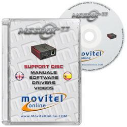 MSS Box CD or DVD disk covercase with software, drivers, manuals and videos