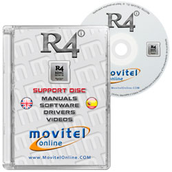 R4i Upgrade Gold Pro 2016 Revolution CD or DVD disk covercase with software, drivers, manuals and videos