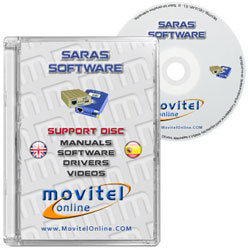 Tornado Flasher UFS 3 Box CD or DVD disk covercase with software, drivers, manuals and videos