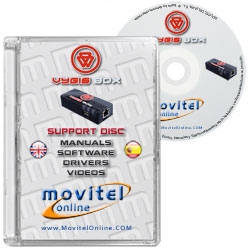 Cartula Disco Vigis Tool Box CD o DVD con software drivers manuales y videos