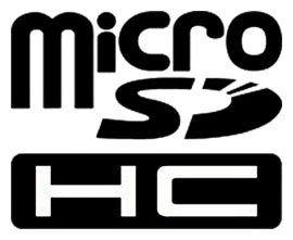 Micro SDHC Logo