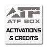 Cr�ditos, Logs y Activaciones para ATF Box
