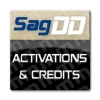 SagDD Logs and Credits Accounts