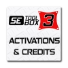 Activations & Credits for SETool Box & LG Tool