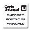 Genie Universal Support and Manuals