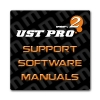Discs and Manuals » UST Pro 2 Box Support and Manuals