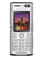 Sony Ericsson K600i / K600c / V600i (Vodafone) DB2000 A1
