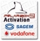 Sagem and Vodafone Unlock Activation by only 41,90 EUR !!