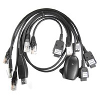 Sagem 5 in 1 USB Cable for Polar Box & Micro Box (Venom Series) - USB FTDI cable for Sagem and ZTE. It has USB connection to the PC and RJ45 for the 5 heads compatible with the vast majority of supported phones. Particularly suitable for use with Polar Box 2 Metal, Polar Box 2 Plastic & Polar Box 3 Metal. Also compatible with boxes like SagDD Box, SWS-SAG Box, SST2, Sagem Code Reader SCDR, Sagem Code Reader SCDR 2, SagMaster, SMTI, etc...