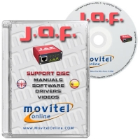 JAF Box and PKey Support Disc with Manuals, Software and Videos - Disc entirely developed by our technical department with detailed instructions and complete manuals for the installation of your product. It also includes all the software and necessary drivers, as well explanatory videos of real procedures!