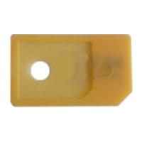 Adaptador/Conversor Tarjetas microSIM a SIM Normal - Si tiene una tarjeta microSIM como las que usan los iPhone 4, iPhone 4S, iPad 3G, iPad 2 3G, Nuevo iPad 4G o Samsung Galaxy S3 i9300 y quiere usarla en dispositivos o tel�fonos que usan Tarjetas miniSIM est�ndar, este es su producto! Simplemente introduzca la microSIM en este adaptador de pl�stico r�digo de gran calidad y ya puede volver a utilizar su microSIM original o cortada como si de una miniSIM normal se tratara. Ahorr� los costes y tiempo de espera de pedir un duplicado a su Operador de telefon�a m�vil!