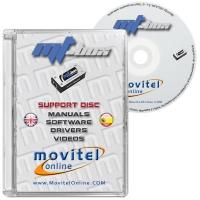 MTBox Support Disc with Manuals, Software and Videos - Disc entirely developed by our technical department with detailed instructions and complete manuals for the installation of your product. It also includes all the software and necessary drivers, as well explanatory videos of real procedures!