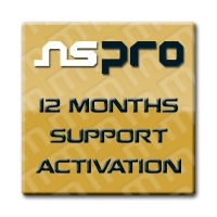 Samsung Activation + 1-year Support Renewal for NS Pro Box - License for update your NS Pro the 5.5.0 version or above as v6.x.x. It also includes the support renewal for 1 yeaer and be able to download from support area, updates, etc...
