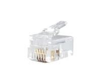RJ11 Connector Crimp End Plug (4 pin) -