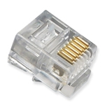 RJ12 Connector Crimp End Plug (6 pin) -