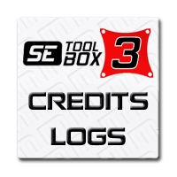 New Account or Refilling of 30 logs for SETool Box 3 - Credits/logs Accounts for SETOOL 3 Box (Metal or Plastic) that can be used to unlock phones and/or activate the new v1.x software versions in your Box and therefore get access to the Official Support. Note that the activation for v1.x discounts 20 credits, so if you buy 30 credits, will be 10 credits left in your account to be able to use them in the future.