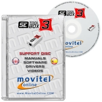 SE Tool 3 Box Support Disc with Manuals, Software and Videos - Disc entirely developed by our technical department with detailed instructions and complete manuals for the installation of your product. It also includes all the software and necessary drivers, as well explanatory videos of real procedures!