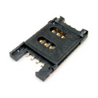 SIM Card Holder for Soldering into PCB -