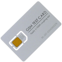 SonyEricsson and Motorola Test Card SIM -