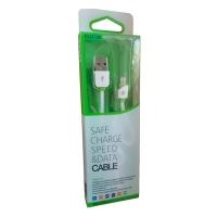 Cable plano USB a Lightning para iPhone / iPad / iPod [2,00 metros] - Este es un cable plano de silicona de alta calidad con conector Lightning a USB 2.0 sirve para cargar y sincronizar los nuevos iPhone, iPad, iPad mini y iPod con ordenadores Mac o PC. También puede usarlo con los cargadores de pared o los de mechero de coche. Altísima calidad, igual que el original pero con una longitud total de 2,00 metros. Este cable soporta iOS 7.x.x, iOS 8.x.x y iOS 9.x.x sin el molesto mensaje de: Este cable o accesorio no está certificado, por lo que es posible que no funcione correctamente.