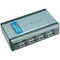 Hub USB 2.0 D-Link DUB-H4 (4 puertos) -