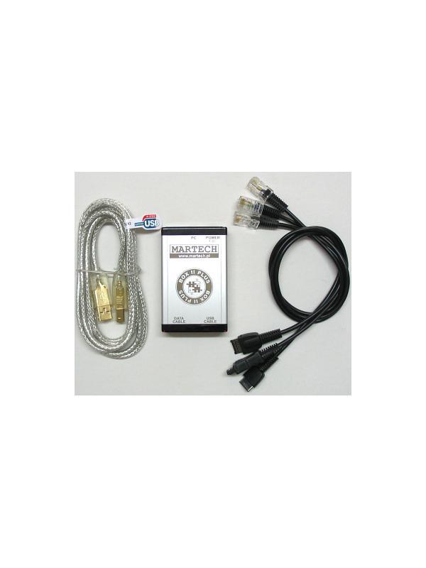 Martech Box 2 Plus + Kit 4 Cables - Sin duda la mejor solución para liberar, flashear, cambiar idiomas y reparar todos los teléfonos Siemens! Ahora con posibilidad de ampliar las marcas y modelos soportados con las Activaciones VSZ, ALC2, MDM y RCD disponibles en nuestra tienda!