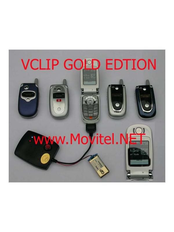 Clip Motorola V Clip Gold Edition -