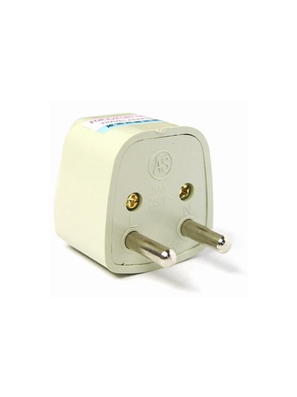 US/CHINA/UK 110v to EURO 220v Plug Converter - Adapter to use devices with American, English or China 110 volts plug on European Countries where is available 220 volts Schuko type. Example: Use an American TV in Spain.