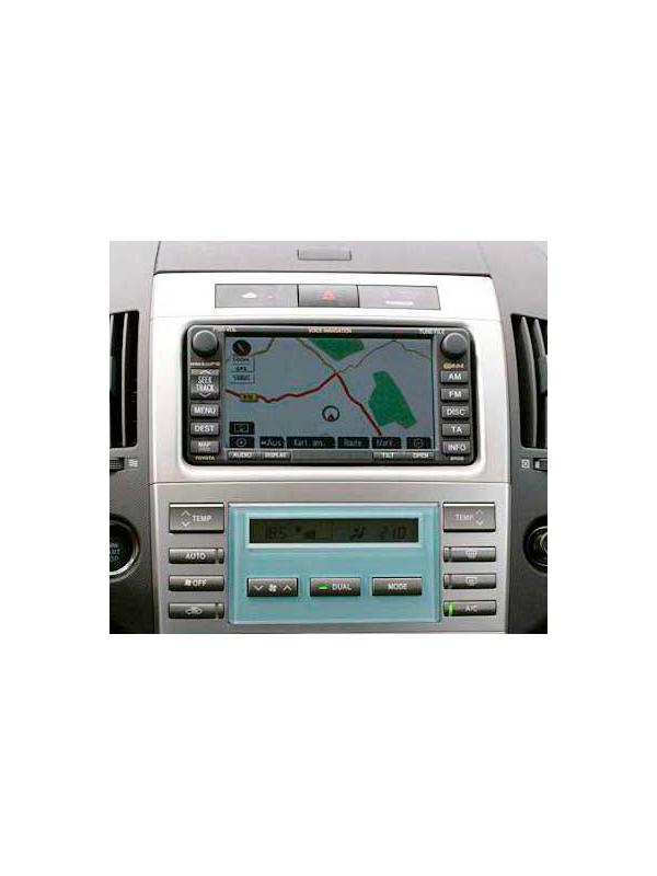 TNS 600 / 700 2017-2018 v1 E1F [1 x DVD to choose] - Latest version of the map DVD update for the Toyota and Lexus TNS 600 / 700 navigation systems manufacturated from 2003 onwards with maps in DVD media, with touchscreen and dual disc drive with one slot for audio CD and one for DVD map.