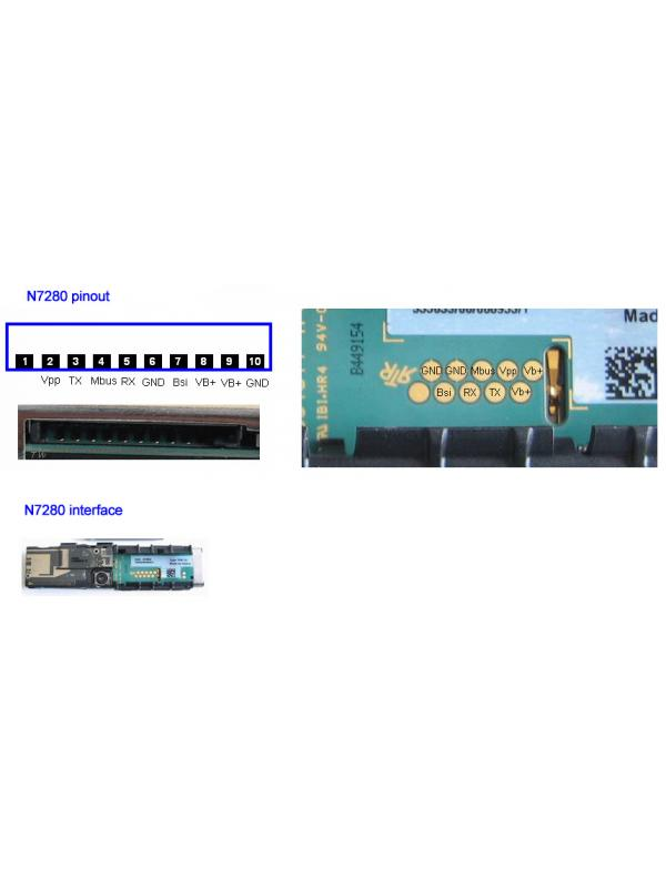 Cable Nokia DCT4 7280 UFS -