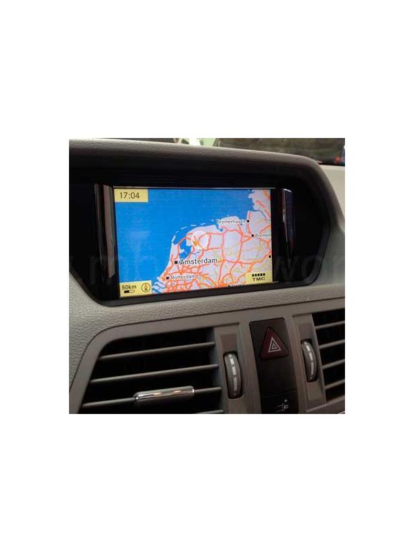 Audio 50 APS NTG4-212 v11 2016 [1 x DVD a elegir] - Última versión disponible de la actualización DVD de mapas para los navegadores Mercedes Benz Audio 50 APS NTG4-212 para modelos Clase E W212/S212/A207/C207 y CLS C218.