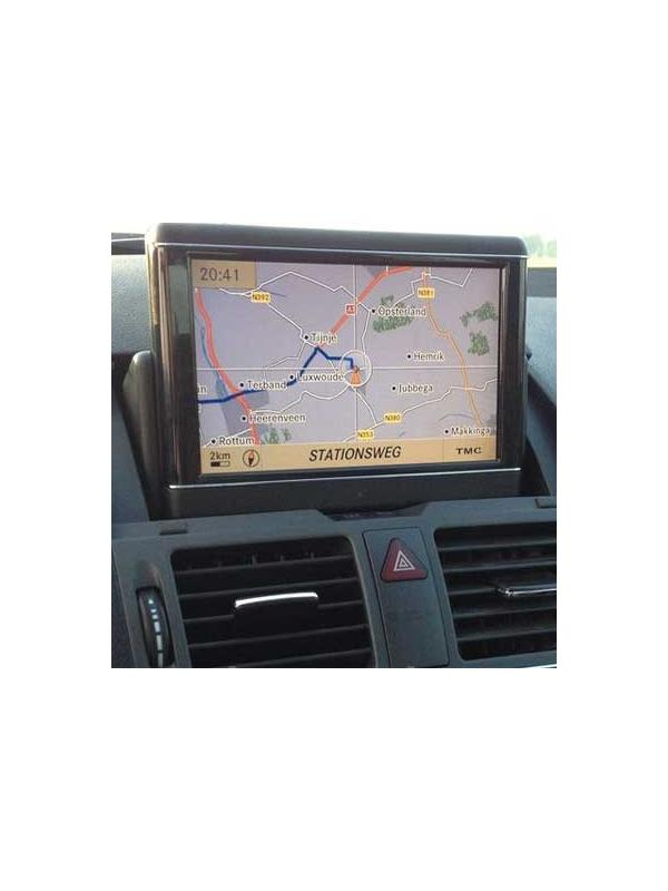 Comand APS NTG4-204 v15 2018 [Europe 2 DVDs Set] - Latest version of the map DVD update for the Mercedes Benz Comand APS NTG4-204 navigation systems for C-Class W204/S204, GLK X204 and SLS C197/R197.