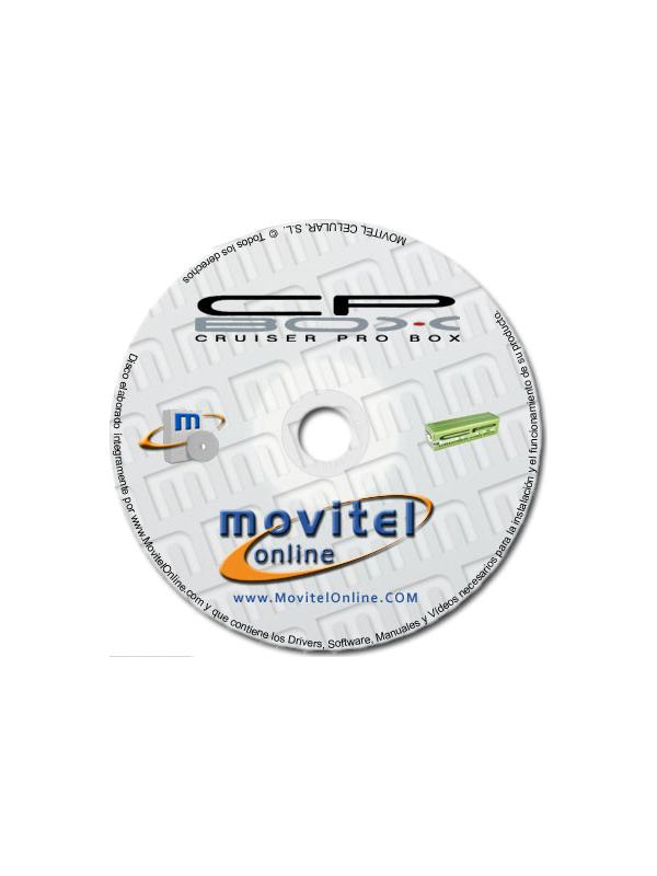 Cruiser Pro Box Support Disc with Manuals, Software and Videos - Disc entirely developed by our technical department with detailed instructions and complete manuals for the installation of your product. It also includes all the software and necessary drivers, as well explanatory videos of real procedures!