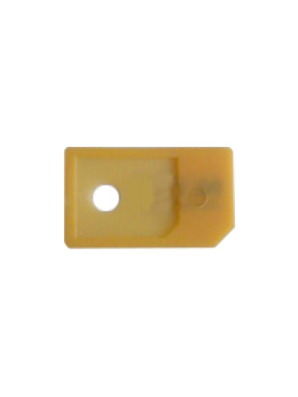 microSIM Cards Adapter/Converter to Normal SIM - If you have a microSIM card as the ones that are using the iPhone 4, iPhone 4S, iPad 3G, iPad 2 3G, New iPad 4G or Samsung Galaxy S3 i9300 and your want to use on devices or cellphones that use standard miniSIM cards, this is your product! Simply insert your microSIM into this high quality plastic adapter and you can reuse your original or cutted microSIM as if it were a normal miniSIM. Save the costs and avoid waiting time to request a duplicate to your mobile operator!