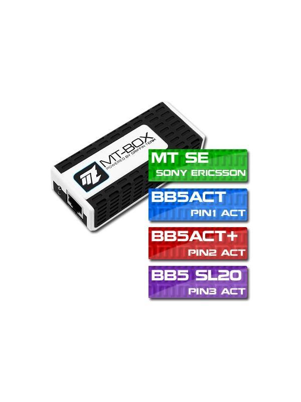 MTBox FULL con 6 Activaciones ILIMITADAS + Kit 6 Cables - Una de las mejores máquinas del mercado para trabajar con todos los terminales Nokia y de cualquier plataforma! Ahora se la ofrecemos con 5 Activaciones: MT Nokia, MT SonyEricsson, MT Siemens, BB5ACT y BB5ACT+ totalmente ILIMITADAS y al mejor precio del mercado!