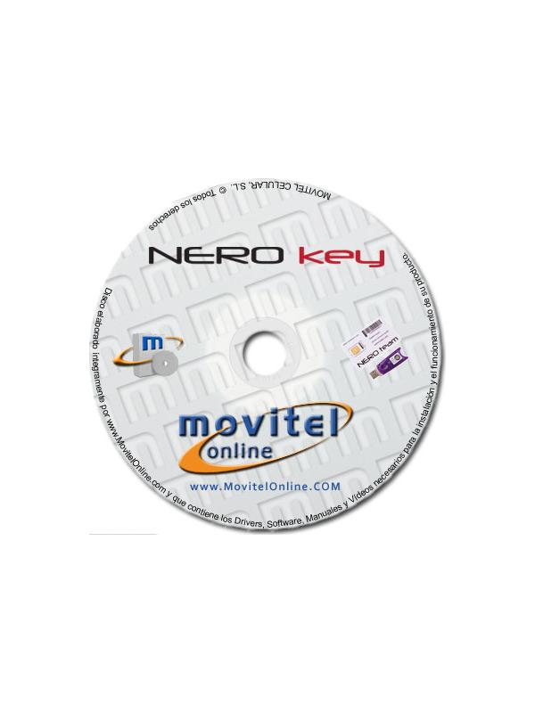 NERO key Support Disc with Manuals, Software and Videos - Disc entirely developed by our technical department with detailed instructions and complete manuals for the installation of your product. It also includes all the software and necessary drivers, as well explanatory videos of real procedures!