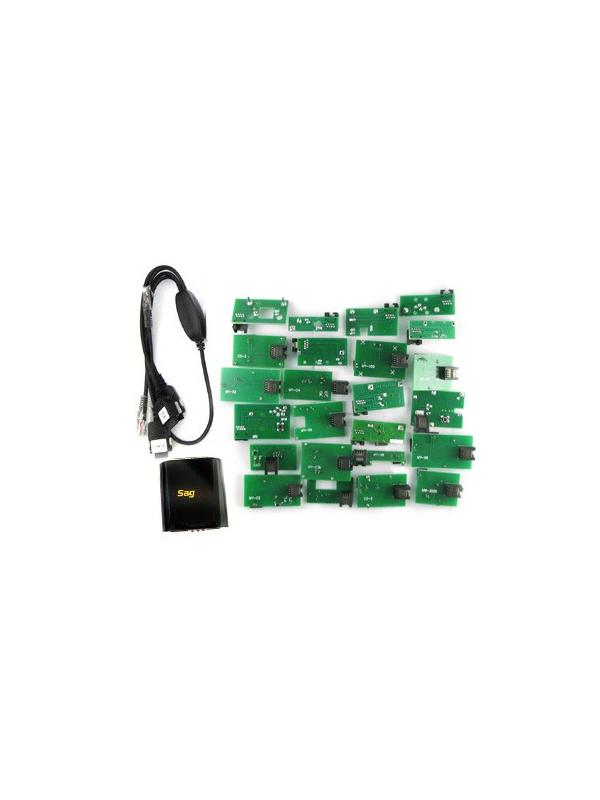 SagemDD Box + Cable 3 en 1 + 24 Placas -
