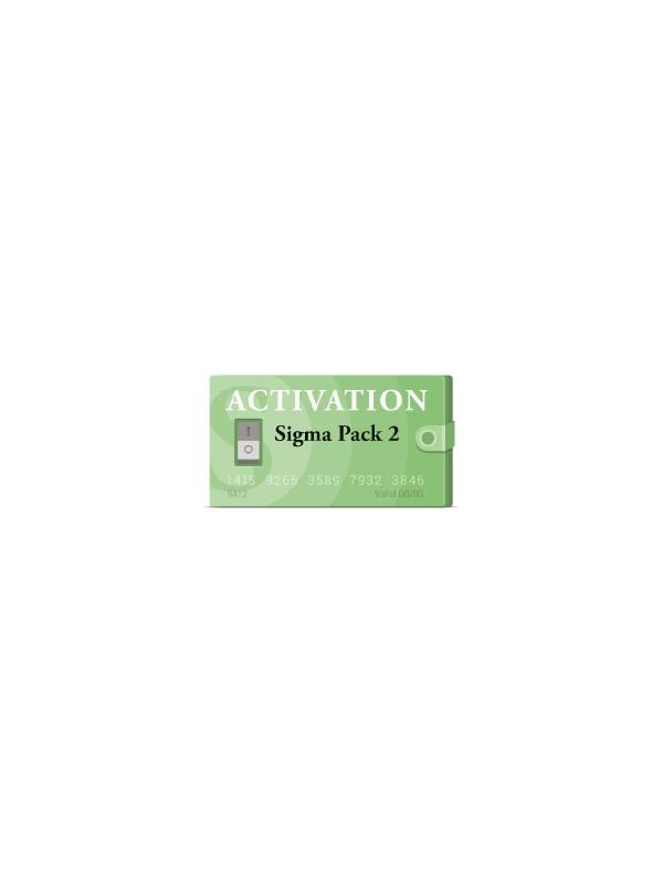 Pack 2 Activation for Sigma Box - Module for unlocking and IMEI repairing features for the latest Motorola, ZTE, vodafone and Sony phones and tablets from the Qualcomm Hexagon platform. The Pack 2 Activation is compatible with Sigma Key, Sigma Dongle and Sigma Box.
