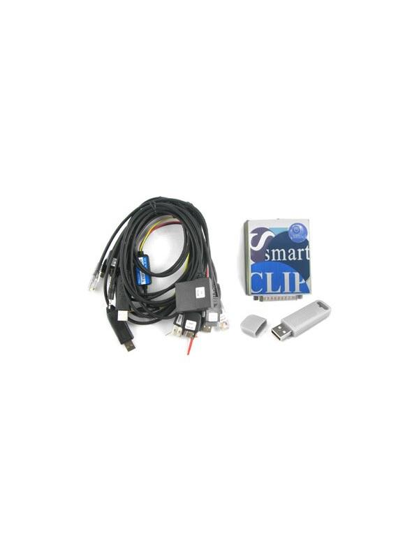 Smart Clip + S-Card + Kit 12 Cables -