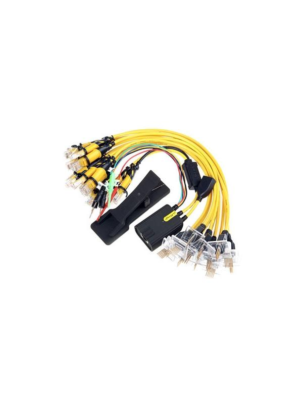 Universal UFC PRO v3 FBUS 16 in 1 Cable Set with LED for Nokia (BX Series) - Universal FBUS Multi-Cable for Nokia phones that have RJ45 connection as JAF, Universal Box, Cyclone Box and RJ48 connection type as MT Box Genie Universal for use it with practically any Box available in the market for Nokia. You will be able to create in a few moments the cable you desire for unlock and flash without having to wait to have the latest Nokia cable in your hands!