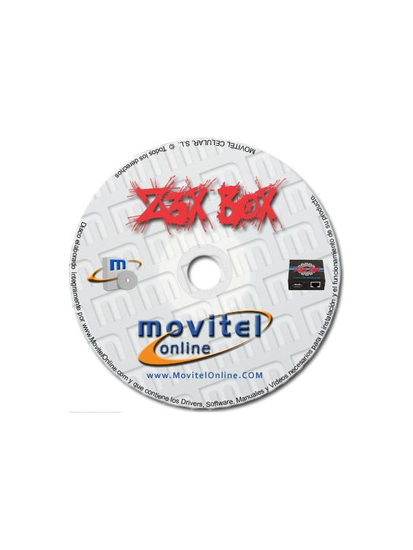 Z3X Box Support Disc with Manuals, Software and Videos - Disc entirely developed by our technical department with detailed instructions and complete manuals for the installation of your product. It also includes all the software and necessary drivers, as well explanatory videos of real procedures!