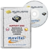Cyclone Box Support Disc with Manuals, Software and Videos - Disc entirely developed by our technical department with detailed instructions and complete manuals for the installation of your product. It also includes all the software and necessary drivers, as well explanatory videos of real procedures!