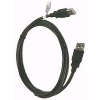 Cable USB-A Macho - USB-A Macho - 