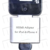 Adaptador HDMI 1080p iPad / iPad 2 / iPhone 4 / iPod Touch 4G - Con este adaptador de Dock a HDMI puede conectar su iPad WiFi o 3G, iPad 2 WiFi o 3G, iPhone 4 o iPod Touch 4G a una televisin, un monitor, un proyector o una pantalla LCD que utilice un conector o cable HDMI y ver presentaciones de diapositivas y pelculas.  Y es HD Ready 1080p !!