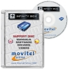 Infinity Box Support Disc with Manuals, Software and Videos - Disc entirely developed by our technical department with detailed instructions and complete manuals for the installation of your product. It also includes all the software and necessary drivers, as well explanatory videos of real procedures!