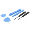 Opening Tools for iPhone / iPad / iPod / PSP / NDS (6 pcs) - Tool kit for assembly and disassembly the covers of iPhone 2G y 3G, iPod, iPod Touch, Nintendo DS, DS Lite and Sony PSP! No more damaged covers and shells by not having the right tools!