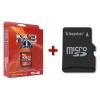 Cartucho M3i SDHC + Tarjeta microSD + Arranque y Juegos Instalados